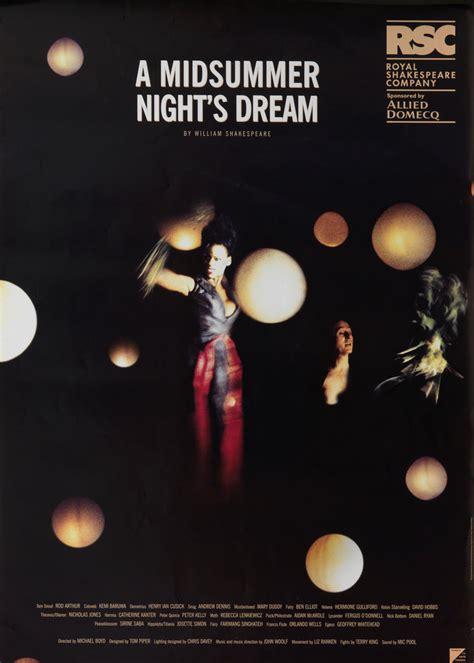 midsummer nights dream a a midsummer night s dream 1999 royal shakespeare