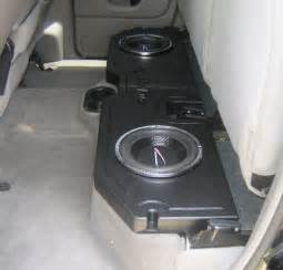 dodge ram 1500 subwoofer box