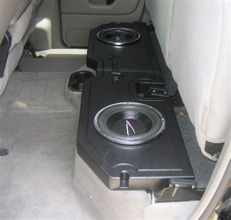 dodge ram subwoofer box speaker boxes for dodge ram 1500 images