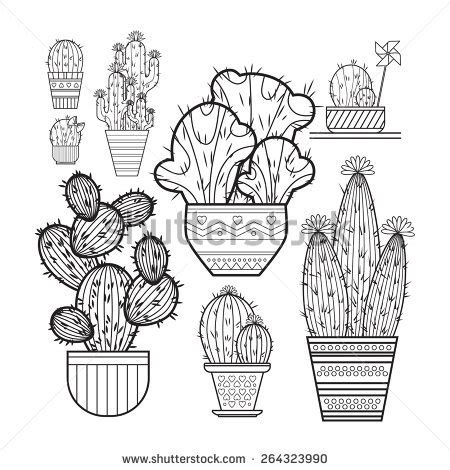 desert background coloring page desert cactus texture coloring pages