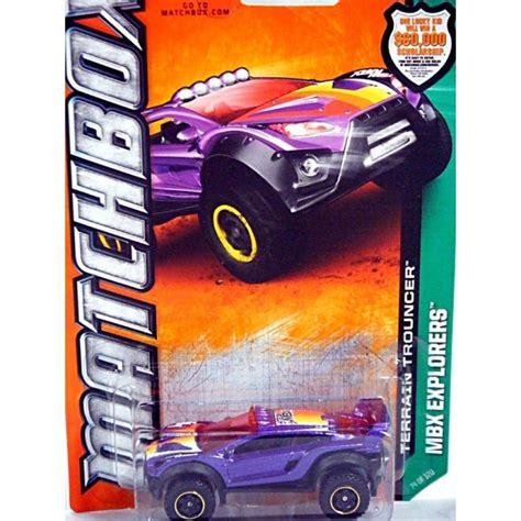 Diecast Matchbox Explorers Terrain Trouncer matchbox terrain trouncer 4x4 race vehicle global diecast direct