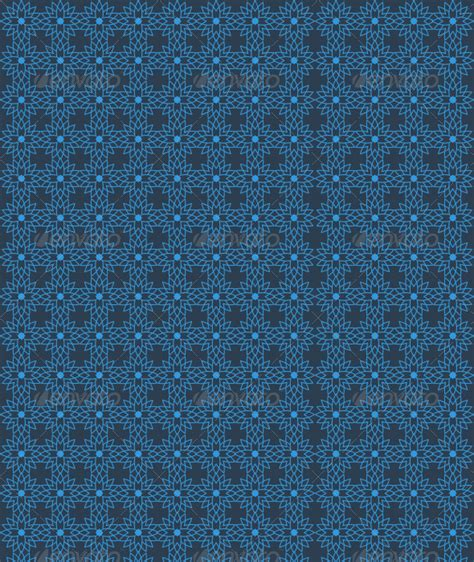 blue islamic pattern islamic star pattern blue by pixelstrawberry graphicriver