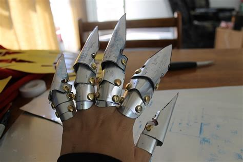 vincent gauntlet template vincent gauntlet metal mock up on behance