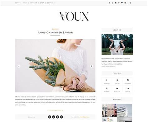 25 best ideas about blogger template free on pinterest