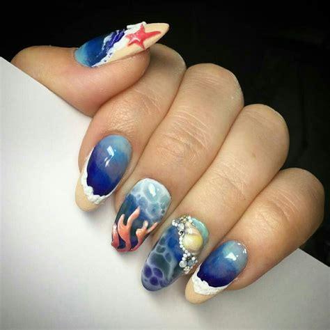 aquarium design nail art 444 best aquarium nails images on pinterest aquarium