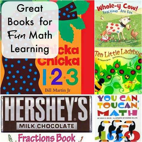 picture books for math math living