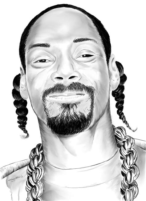 where is snoop from snoop dogg drawing by kevin l