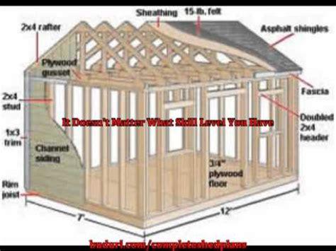 learn    design  build   shed plans