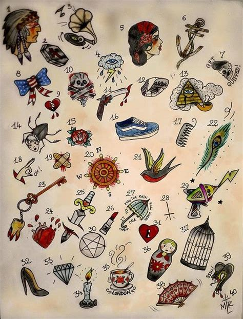 tattoo flash patterns love this tattoo art colors patterns art and design