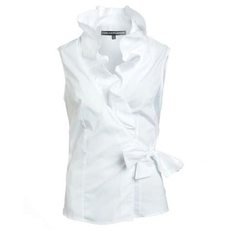 Unique Shirts Forever Unique Shirt White Sleeveless Tammie
