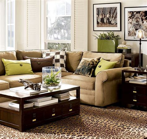 brown living room 28 green and brown decoration ideas