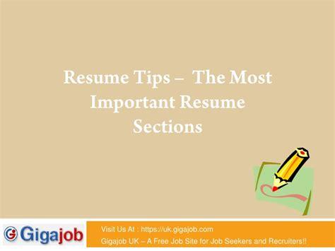 important resume tips important resume tips
