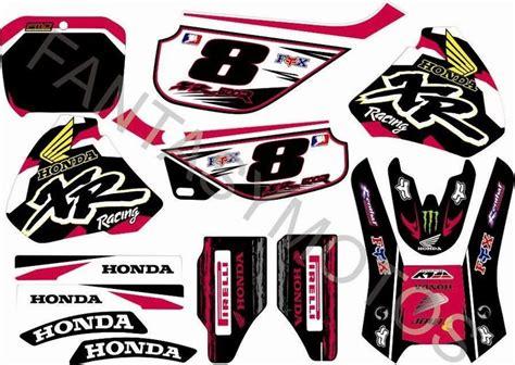 Buy Wholesale Honda Decal Kit - honda xr 600 xr600r graphic kit dekor aufkleber