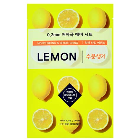 0 2 Therapy Air Mask etude house 0 2 therapy air mask lemon chuusi