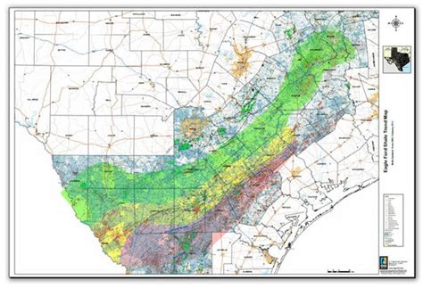 texas shale map gonzales dewit karnes counties benefit from 28b in 2013