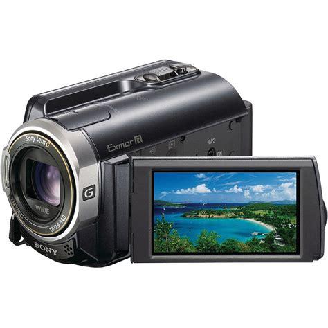 Sony Hdr sony hdr xr350v 160gb handycam camcorder hdr xr350v b h photo