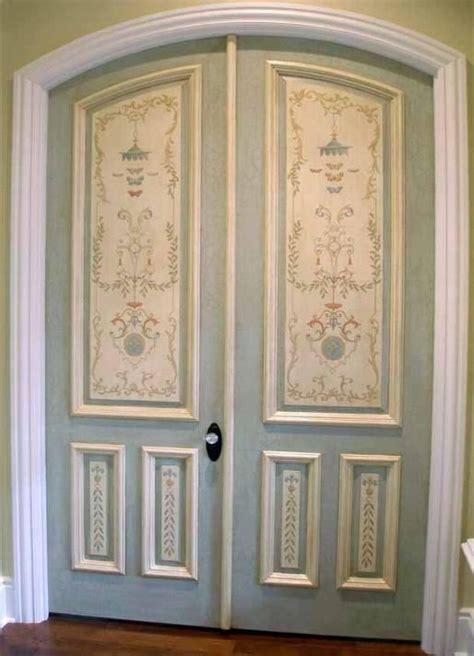 144 Best Doors Images On Pinterest Wood Paintings Painted Interior Door Ideas