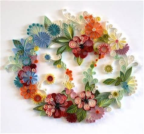 Colour Paper Crafts - beautiful crafts from colored paper 19 pics curious