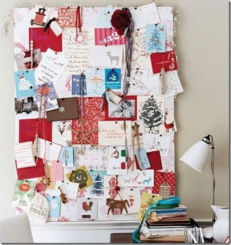how to display christmas cards mail archives simplified bee