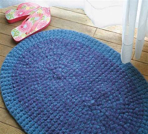 how to knit a rug with yarn yarn rug patterns 171 free patterns