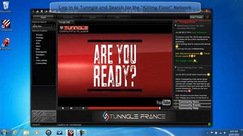 how to update tunngle how to play killing floor online using tunngle youtube