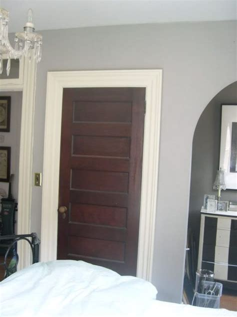 White Interior Doors With Stained Wood Trim The White Trim With Stained Doors I Want To Paint My Trim White This May Be A Great