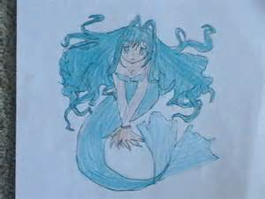 anime mermaid drawing mewpokemongirl 169 2017 aug 25 2011