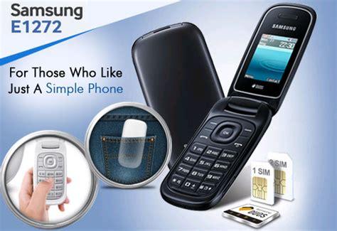 Handphone Samsung Lipat Terbaru hp flip lipat samsung harga 300 ribuan samsung e1272 caramel terbaru 2018 info gadget terbaru