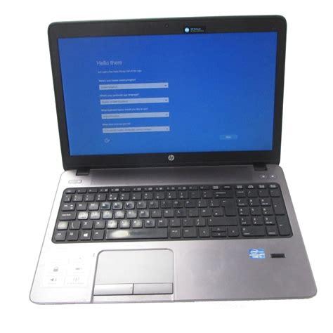 Hardisk Laptop Hp Probook hp probook 450 g0 intel i5 3230m 8gb ram 500gb hdd windows 10 15 6 quot laptop c ebay