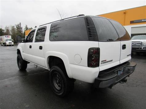 buy car manuals 2003 chevrolet suburban 2500 transmission control 2004 chevrolet suburban 2500 duramax diesel zf6 manual 4x4 only 1 in the country for sale in