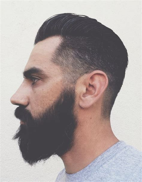 pompadore and beard 1000 ideas about long hairstyles for men on pinterest
