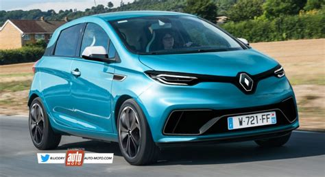 Renault Zoe 2020 2 by Future Renault Zoe 2 2019 Objectif 600 Km