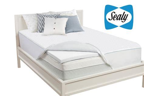 Sealy Memory Foam Mattress Topper by Sealy 2 Quot Memory Foam Mattress Topper
