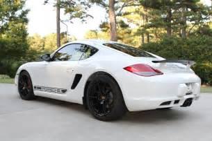 Porsche Cayman White 2012 Porsche Cayman R White Black Rennlist Discussion