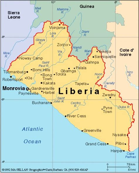 map of liberia related keywords suggestions for liberia map