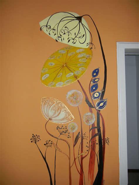 murales fiori alessia bogdanich murales fiori astratti