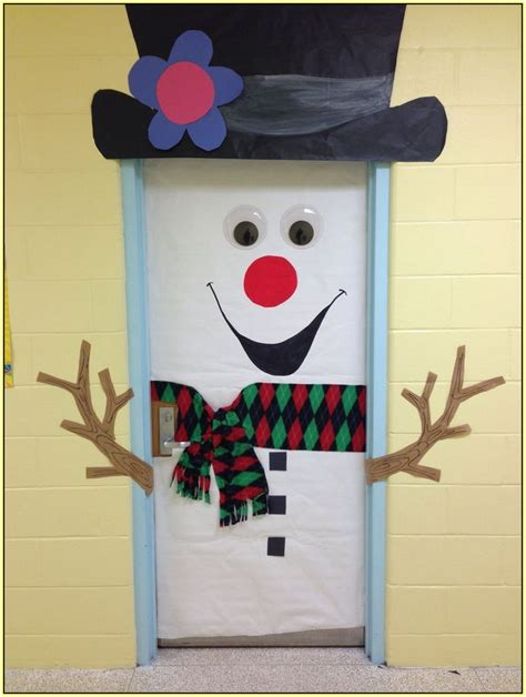 Calendã Escolar Fcup Snowman Door
