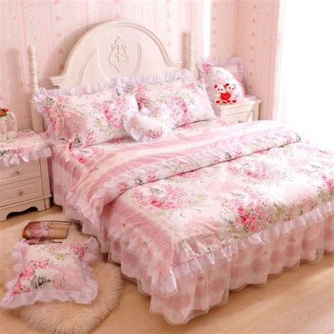 Cute Pink Comforters For Teen Girls And Girly Ladies Girly Bedding Sets