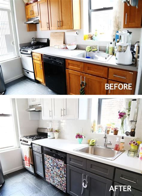 Cheap Kitchen Cabinet Makeover 25 Best Ideas About Apartment Kitchen Makeovers On Cheap Kitchen Remodel Coffee