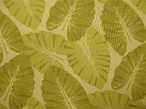 leaf upholstery fabric green natural woven large tropical leaves upholstery