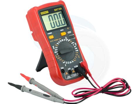 Multitester Digital Cellkit universal handheld digital multitester ammeter voltage resistance
