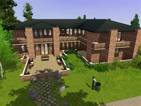 Prairie Home Designs Mod The Sims The Prairie House No Cc