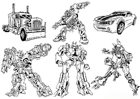 transformers car coloring page transformers coloring page