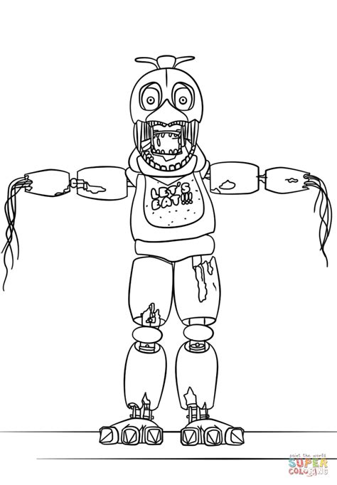 Fnaf 4 Coloring Pages by Exciting Fnaf 4 Coloring Pages All Characters Gambar Last