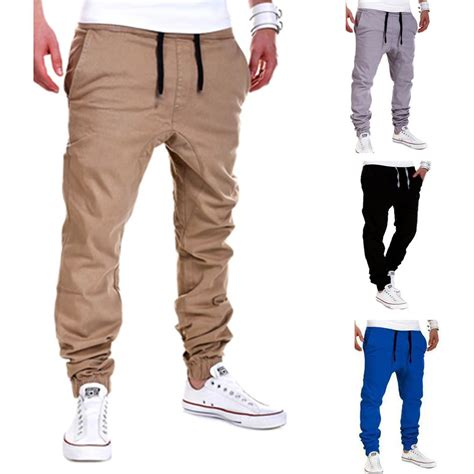 Harem Sweatpants mens trousers sweatpants harem slacks casual