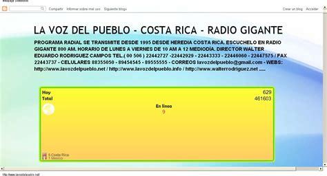 la voz del pueblo costa rica radio sonora 700 am hoy la voz del pueblo costa rica radio sonora 700 am 27