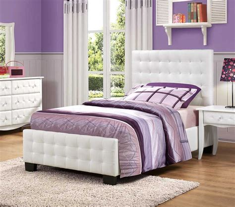 sparkle bedroom dreamfurniture com sparkle upholstered bed white