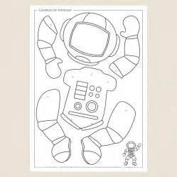 astronaut templates crafts