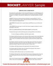 Mediation Template by Mediation Agreement Form Template With Sle
