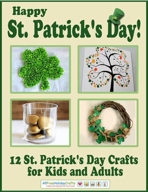 happy st patrick s day 12 st patrick s day crafts for kids and adults allfreeholidaycrafts com